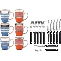 Renberg Pk1178 Set Hogar Cocina 6 Mugs Y