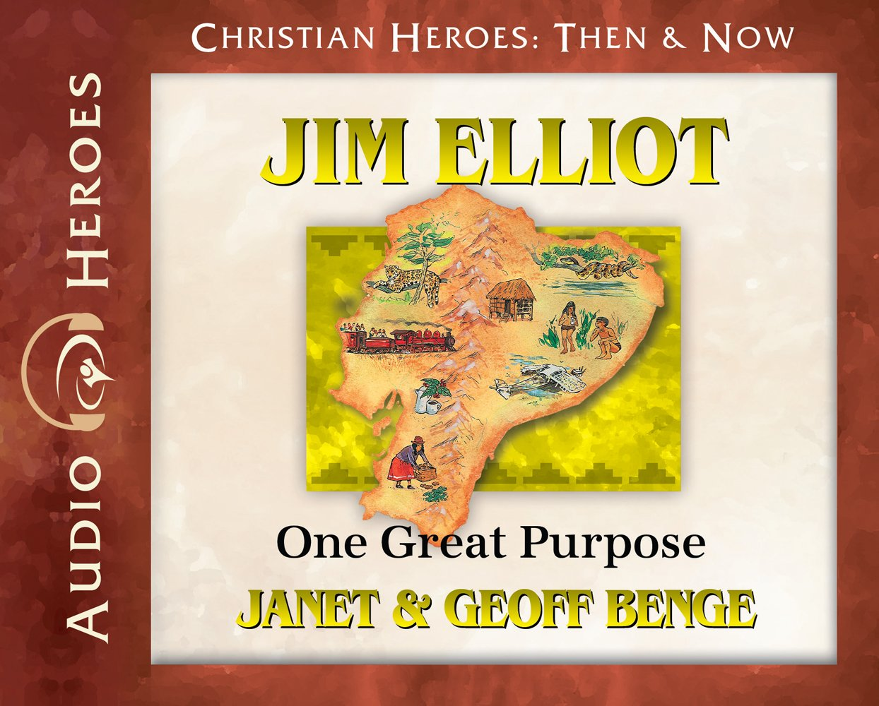 Jim Elliot Audiobook: One Great Purpose (Christian Heroes: Then & Now)