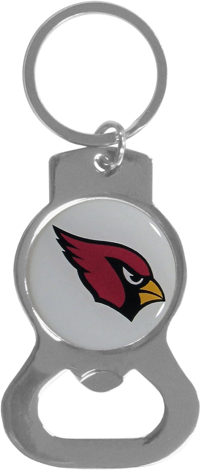 Siskiyou Nfl Sports Fan Shop Arizona Cardinals Flaschenöffner Schlüsselanhänger Einheitsgröße Team Farbe Schwarz Sport Freizeit
