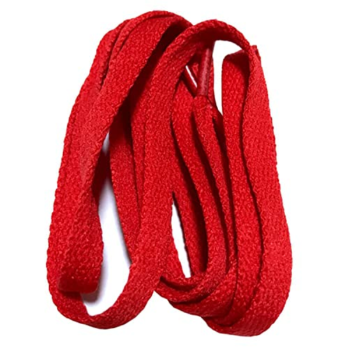 7f548b224150d 8mm Wide of Flat Shoelaces Shoe Laces for Sneakers Sport Shoes 24 ...
