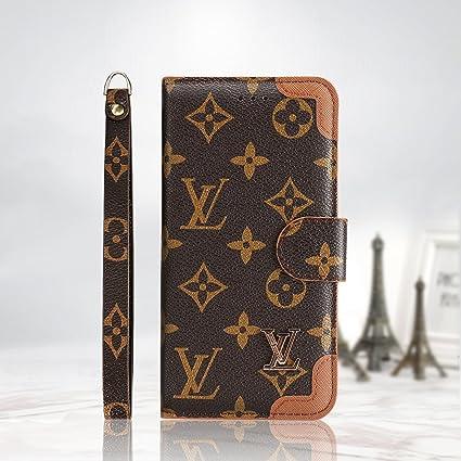 Luaferi iPhone XS MAX Funda Móvil Carcasa por iPhone 7plus/8plus,iPhone X/XS/XR Estuche con Cartera para Tarjetas y Cierre Magnetico Flip Protector por iPhone 7/8 (iPhone XR, Marrón 1): Amazon.es: Electrónica