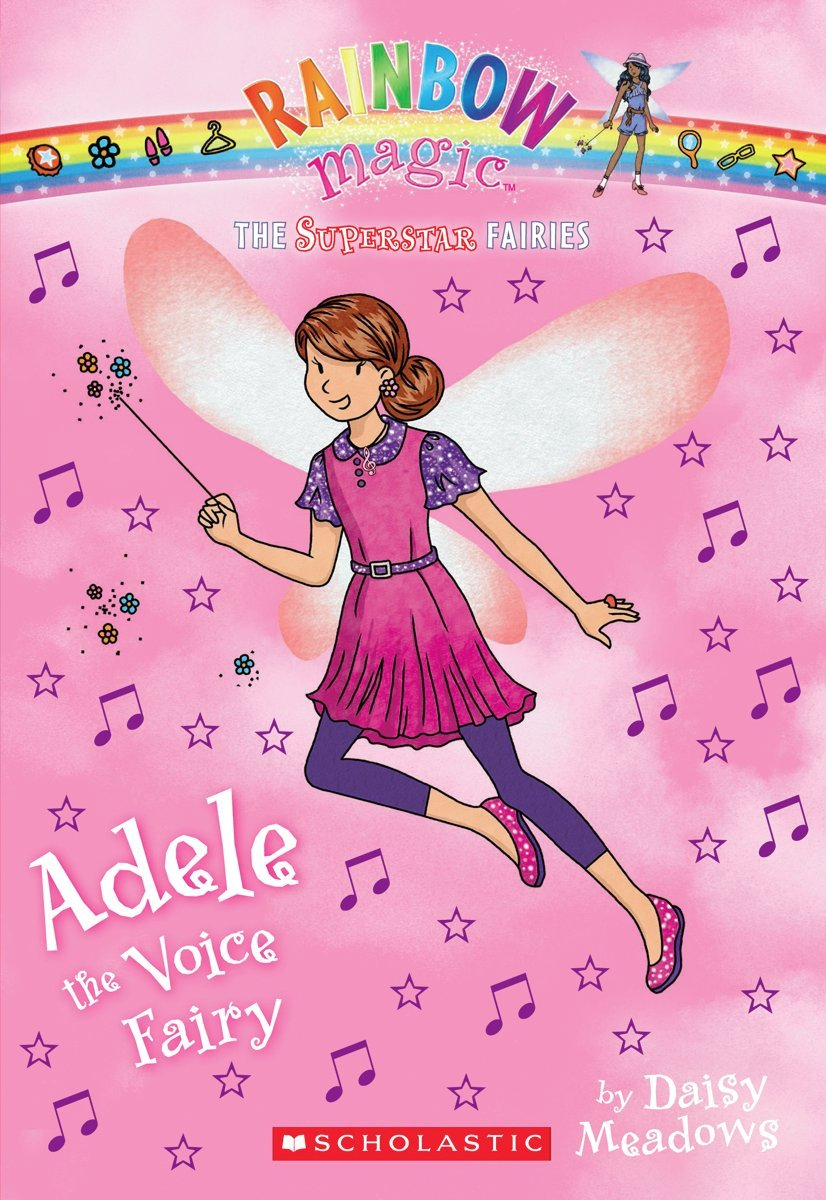 Superstar Fairies #2: Adele the Voice Fairy: A Rainbow Magic Book PDF