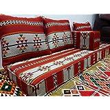 marokkanische sitzgruppe sedari schwarz silber k che haushalt. Black Bedroom Furniture Sets. Home Design Ideas