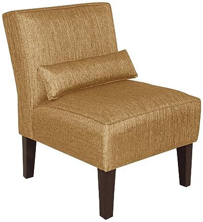 Strange Amazon Com Metropol Glitz Filbert Fabric Slipper Chair Bralicious Painted Fabric Chair Ideas Braliciousco