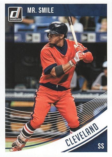 classic fit 68e97 087a8 2018 Donruss Baseball Variations #157 Francisco Lindor Mr ...