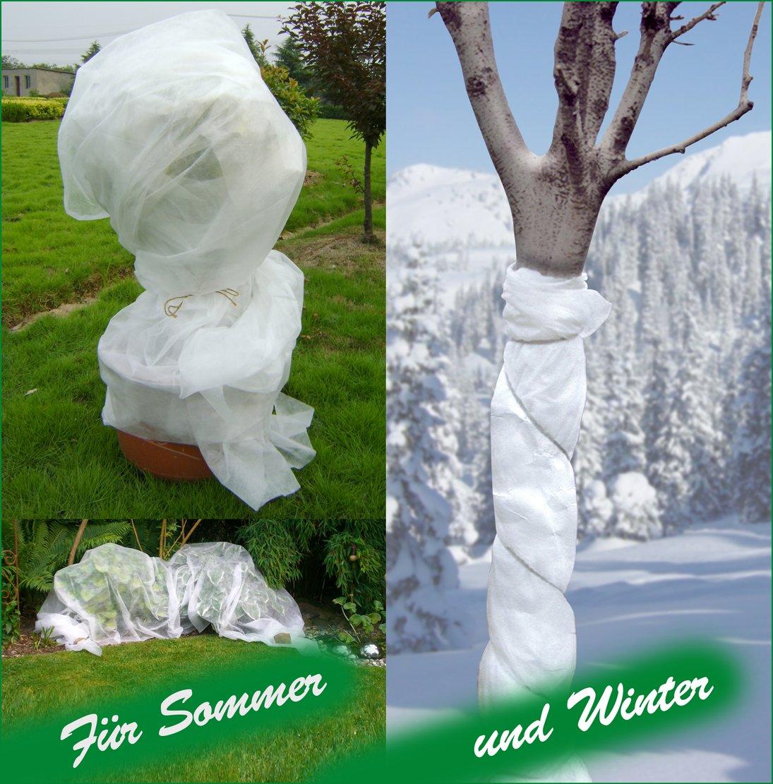 Gartenvlies Pflanzenschutzsack Wintervlies Kälteschutz Pflanzen