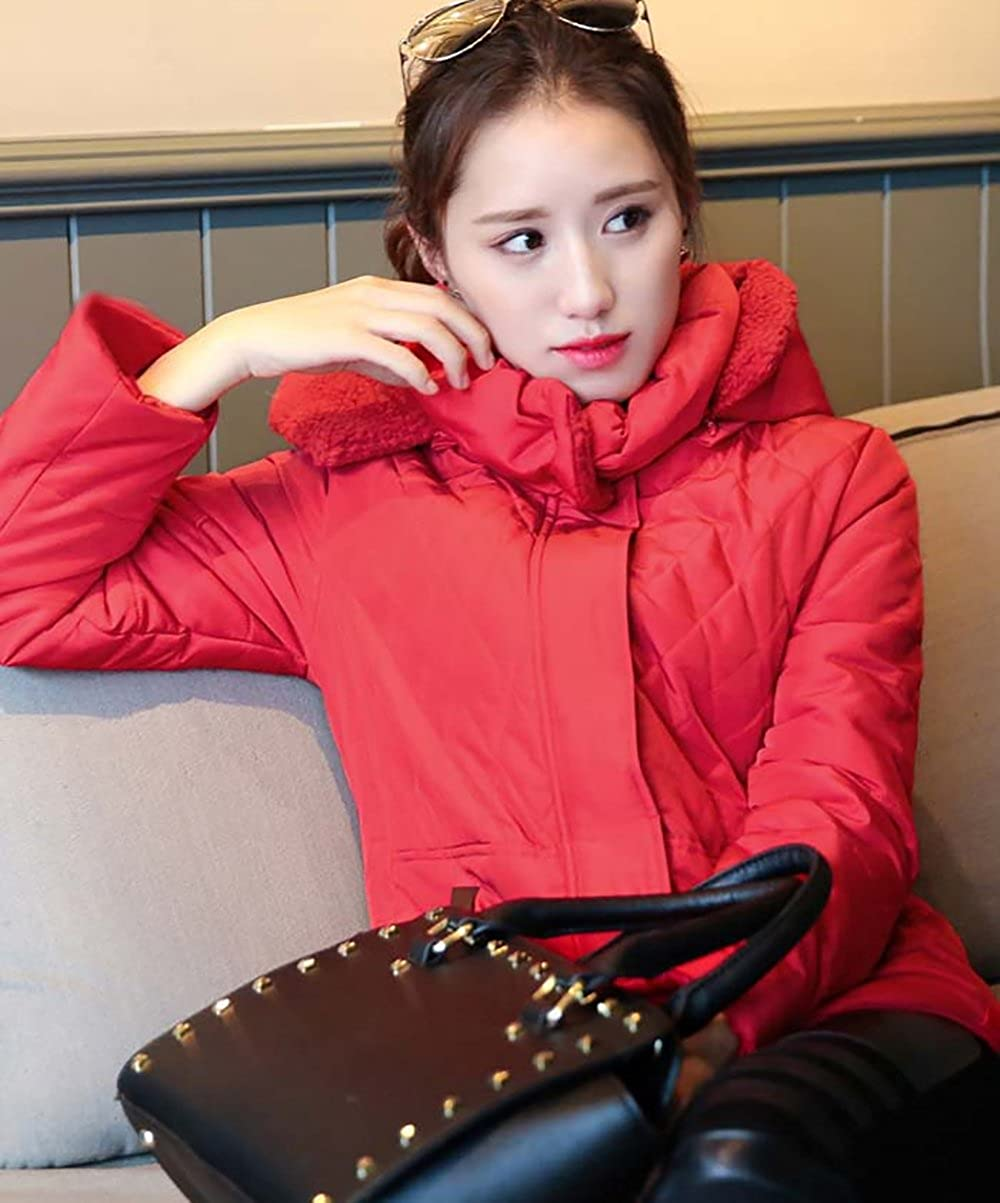 Amazon.com: Pandamum Womens Winter Coat Jacket Quilted Jacket Abrigo de INVIERNO LAS Mujeres: Clothing
