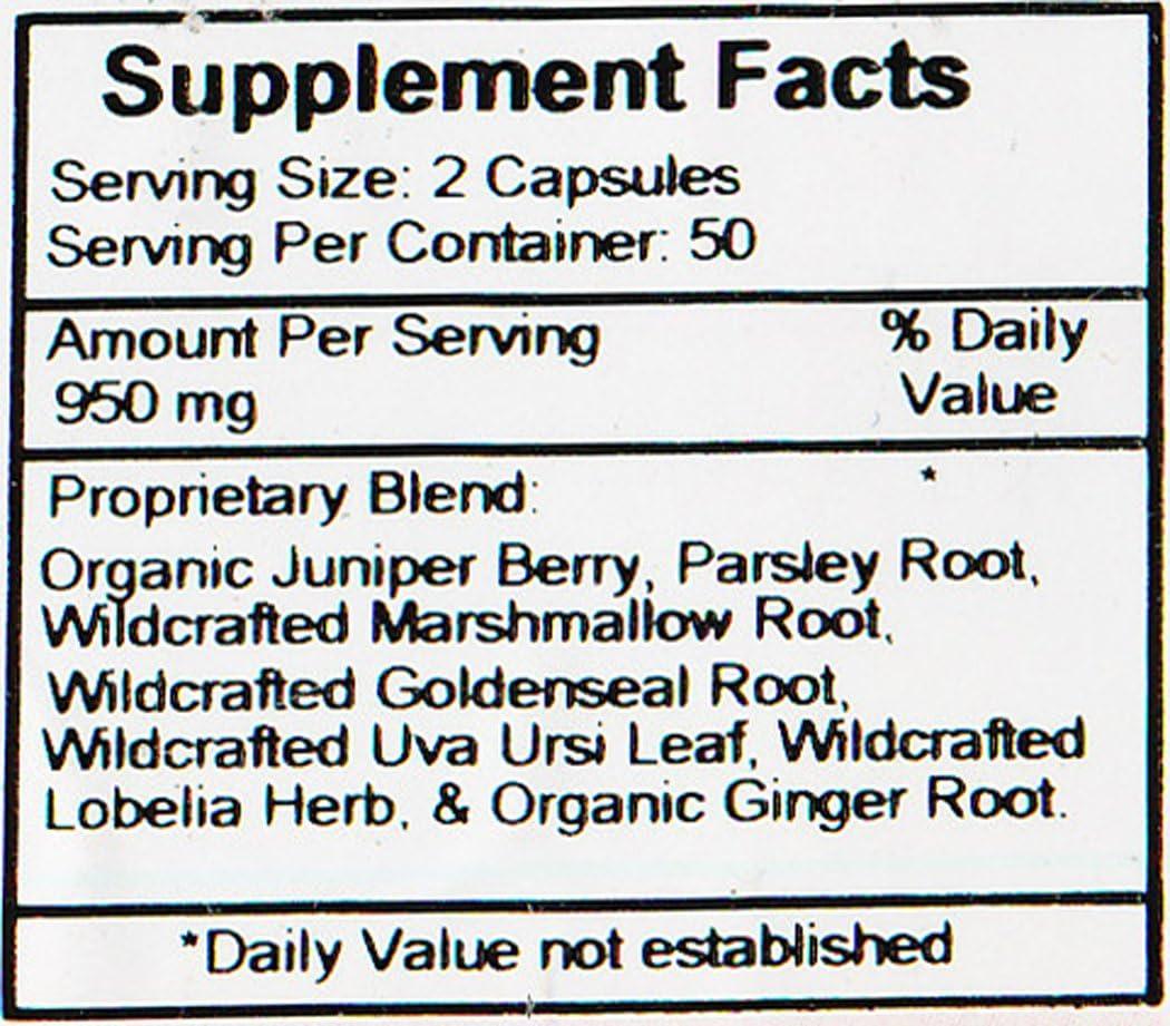 Amazon Com Dr Christopher S Original Formulas Kidney Formula Capsules 475 Mg 100 Count Health Personal Care