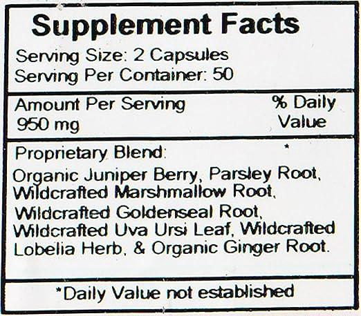 Dr. Christophers Original Formulas Kidney Formula Capsules, 475 mg, 100 Count