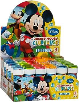 ColorBaby - Caja pomperos Mickey Mouse con 36 Unidades de 60 ml (22900): Amazon.es: Juguetes y juegos