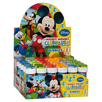ColorBaby - Caja pomperos Mickey Mouse con 36 Unidades de 60 ml (22900)