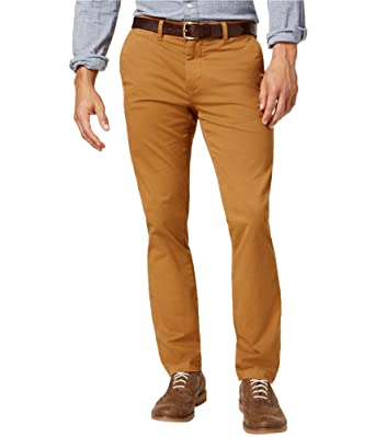 739a54a19ec Tommy Hilfiger Mens Stretch Casual Chino Pants at Amazon Men s Clothing  store