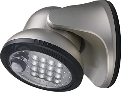 By Fulcrum, 16-LED Motion Sensor Security Light, Battery Operated