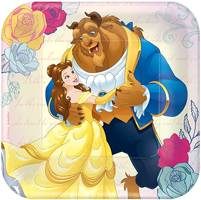 Amazon.com: Disney Princess Belle Beauty and The Beast Party ...