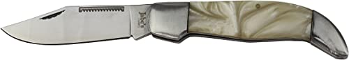 Jabe's Cutlery Classic Western Mother of Pearl Foldable Knife