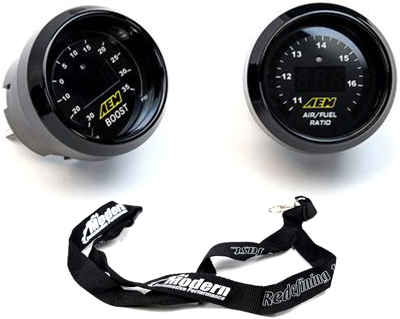 AEM Digital Boost Display Gauge -30 to 35psi 30-4406