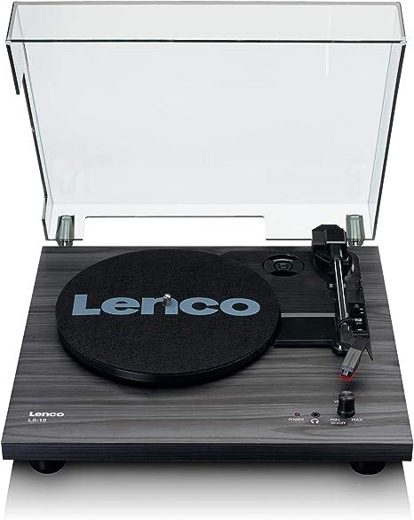 Lenco LS-10 - Tocadiscos (Tocadiscos de tracción por Correa ...