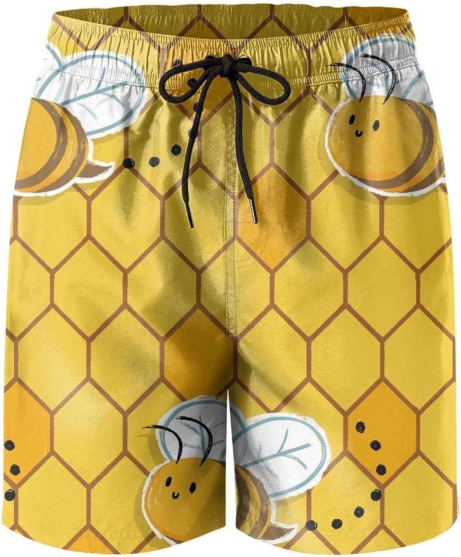 Vintage Retro Pickleball for Men Board Shorts Beach Swim Shorts Athletic Gym Trunks