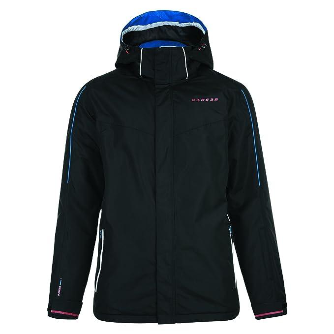 Dare 2b - Abrigo de Esqui Impermeable con Capucha Modelo Synced para Hombre Caballero: Amazon.es: Ropa y accesorios