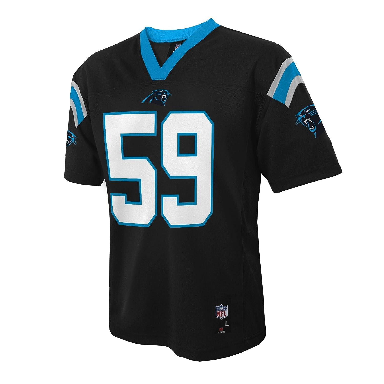 NFL Youth Boys Luke Kuechly Carolina Panthers  Mid-Tier Jersey Black