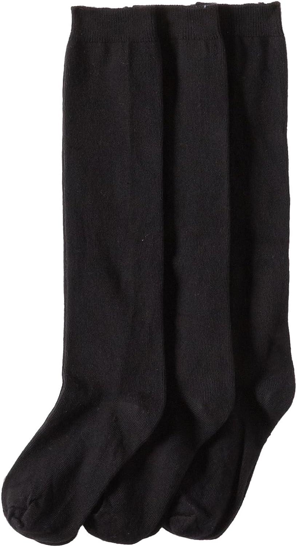 Girls Juniors Women 3,6,12 Pairs Lot Knee High School Uniform Socks Plain S~XL