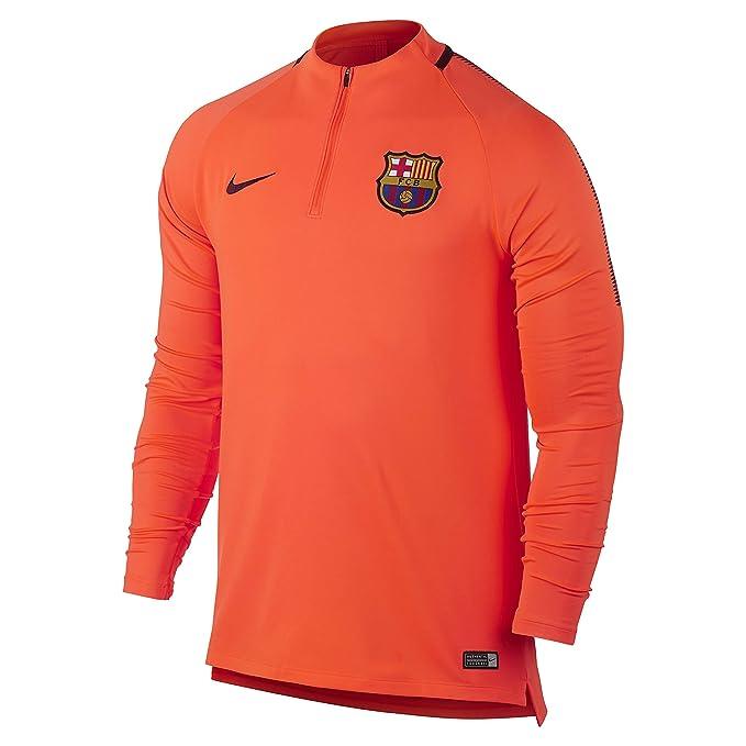 Nike FCB Nk Dry Sqd Dril, Camiseta de Manga Larga para Hombre ...