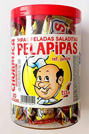 Comprar Churruca Pelapipas Pipas Peladas de Girasol Saladitas (20 x 25 g)