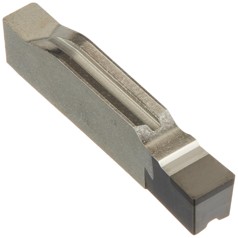 Sandvik Coromant CoroCut 1-Edge CBN Grooving Insert Uncoated Pack of 1 N123H1-0500-0002-GE 0.0079 Corner Radius GE Geometry Non-Handed CB20 Grade 0.197 Cutting Width 1 Cutting Edge H Insert Seat Size