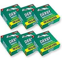 600 medias cuchillas de afeitar Derby Professional precortadas