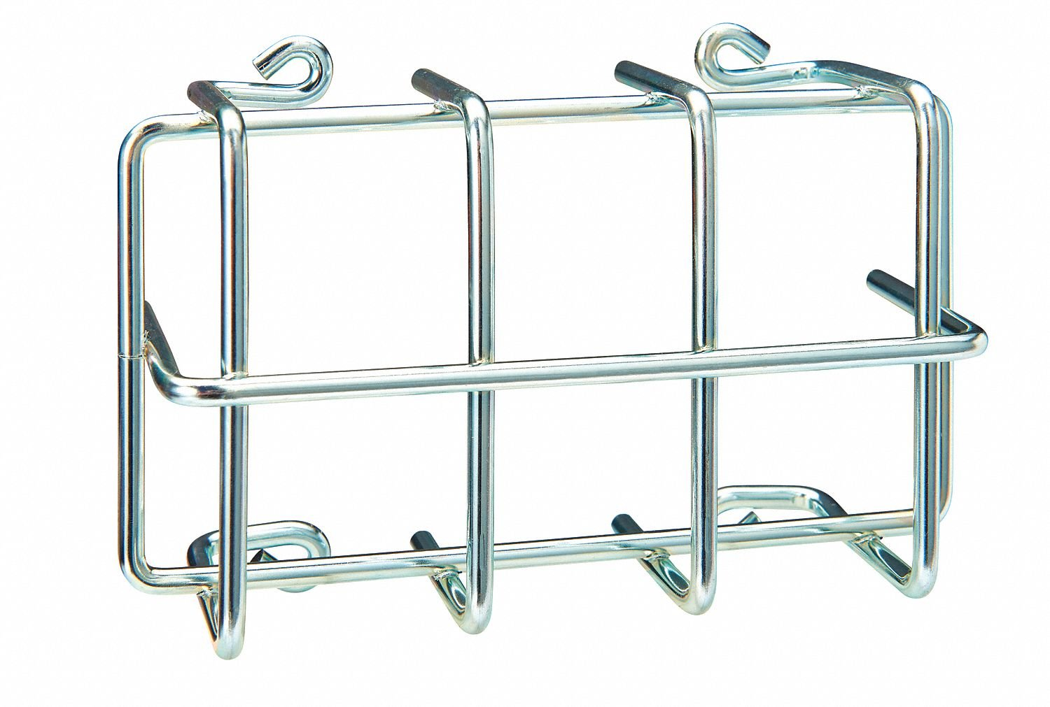 Steel Universal Thermostat Guard, Silver