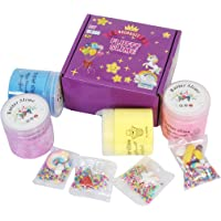 NoorBuzz Butter Slime Kit, Non-Sticky and Stress Relief with Scented Super Soft Sludge Slime Toys for Kids Boys Girls…