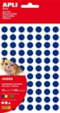 Apli 840071 - Bolsa de 12 hojas de gomets de figuras geométricas