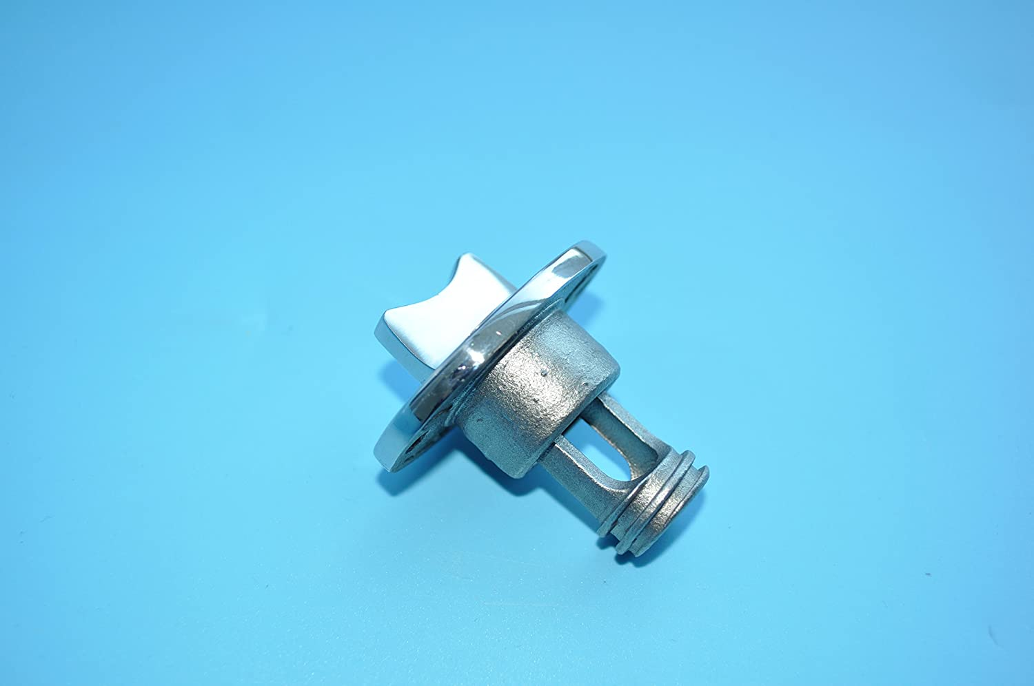 Oval Garboard Drain Plug Stainless Steel Boat Fits 1/'/' Hole.Thread for 3//4/'/'
