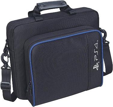 Bolso de Hombro para Playstation 4 / Slim Black, Bolsas de Almacenamiento de Consola de Viaje Mochila de Juegos Prueba de Golpes Accesorios de Juegos Adecuados para PS4 Slim: Amazon.es: Electrónica
