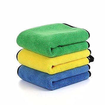 3pcs suministros de limpieza _ alquiler de coral fleece alquiler toalla paño de limpieza cepillo de