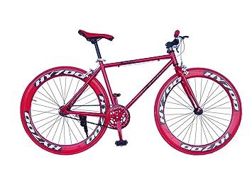 Wizard Industry Helliot Soho 5302 - Bicicleta Fixie, Cuadro de Acero, Frenos V-