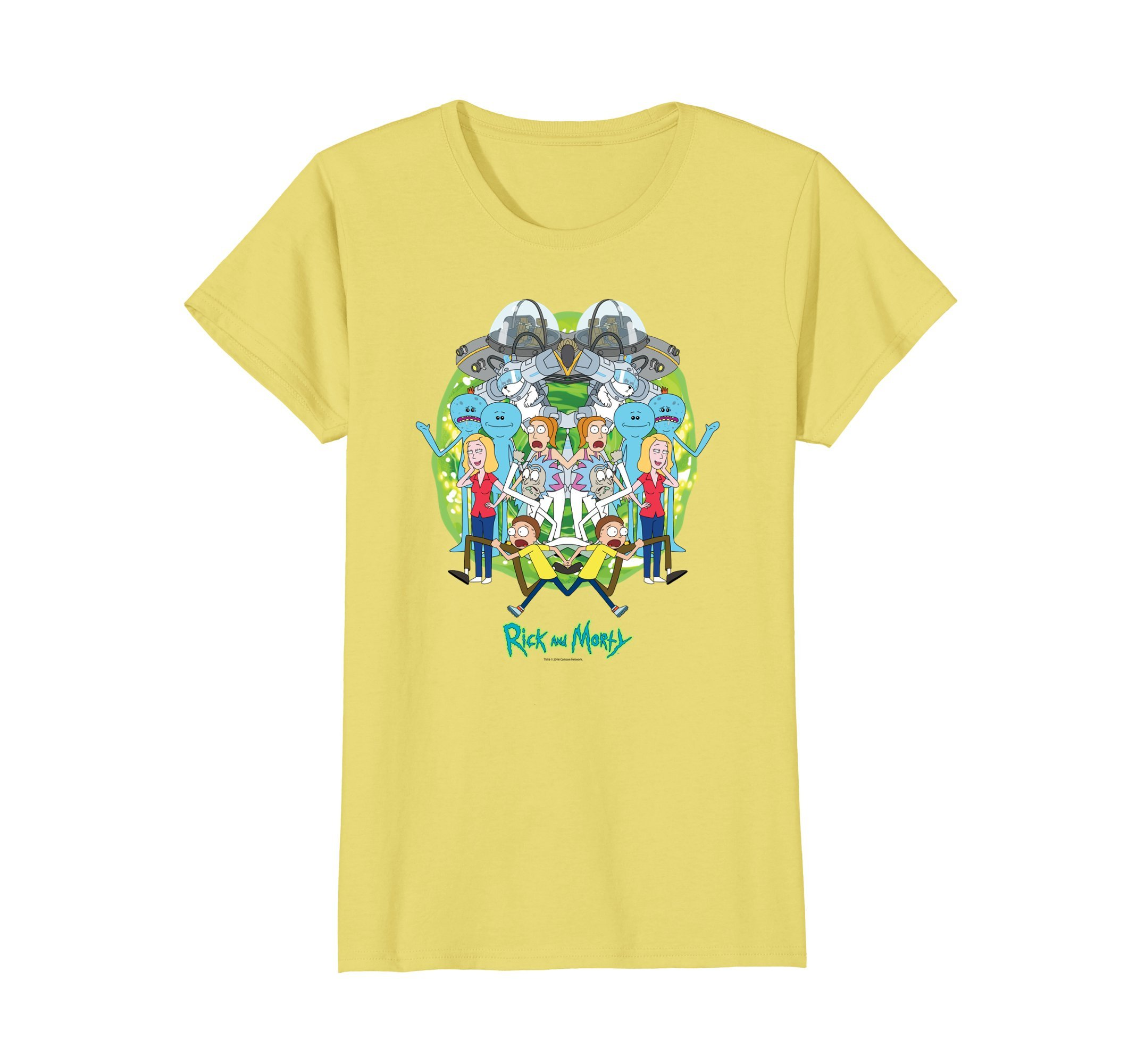 Rick Morty Mirrored Cast Shirts