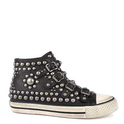 design innovativo stili diversi stile alla moda Ash Footwear Vito Sneakers in Pelle con Borchie Nere 39 Nero ...