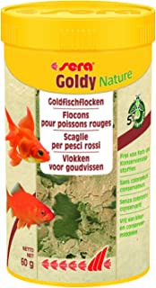 Sera Goldy Nature – El Copo Natural Forro para pequeños Peces de Agua fría sin Color