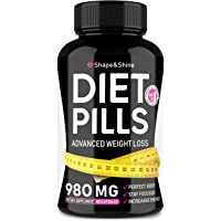 Weight Loss Pills - Diet Pills That Work Fast for Women & Men - Made in USA - Safe...