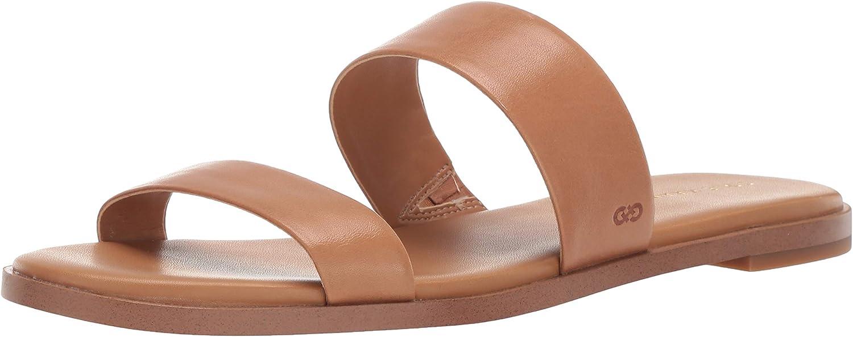 BHFO 2067 B,M Details about  /Cole Haan Womens Anela Grand Tan Flat Sandals Shoes 5 Medium