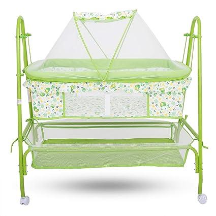 Buy Baybee Comfort Cradle Cot New Born Baby Swing Cradle With