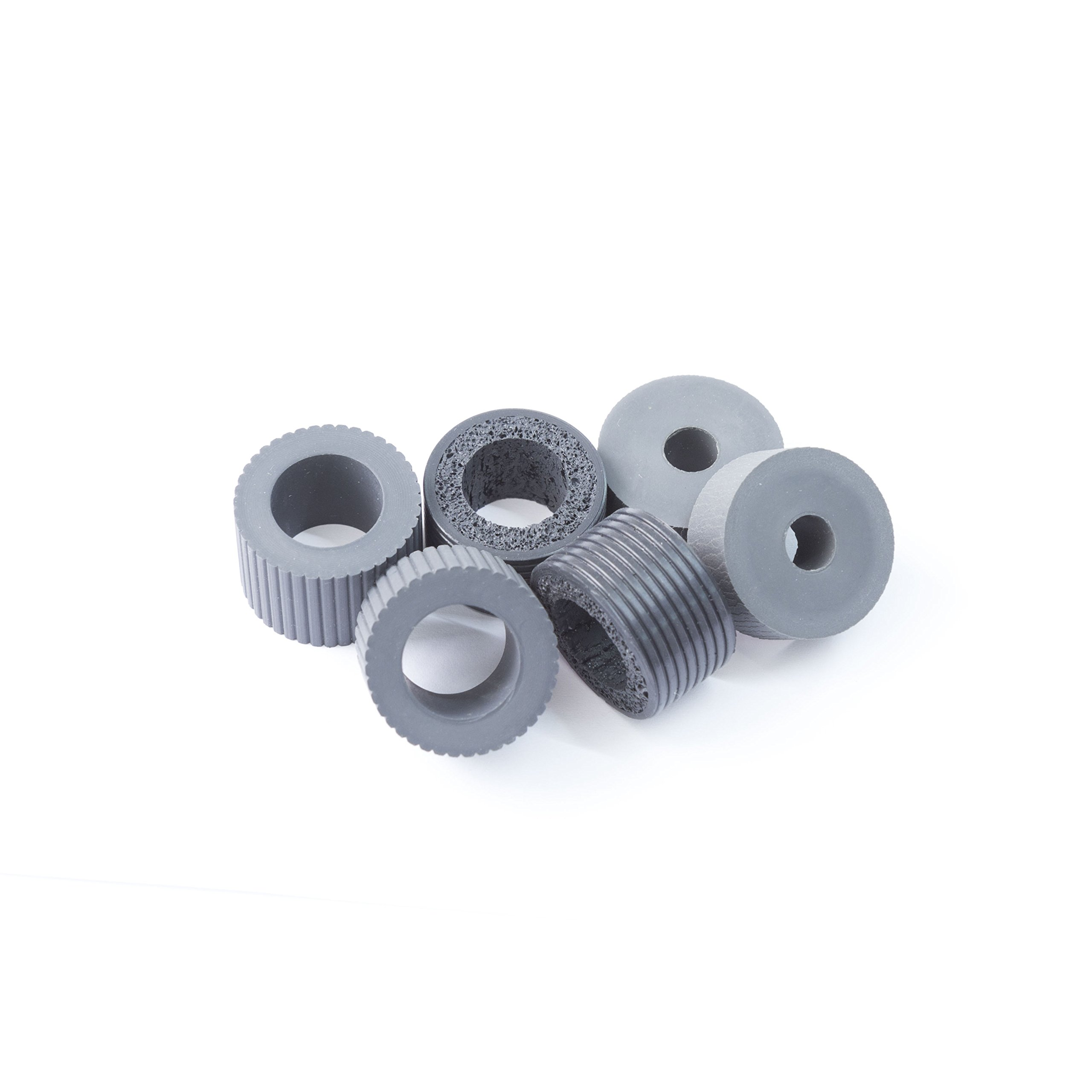 YANZEO PA03338-K011 PA03576-K010 Pick Roller Tire 6 Pcs/Set For Fujitsu FI-6670 Fi-6770 6770A 5650C FI-5650C FI-5750C 5750