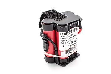 INTENSILO Batería Li-Ion 2500mAh (18V) para Robot cortacésped Husqvarna Automower 105,