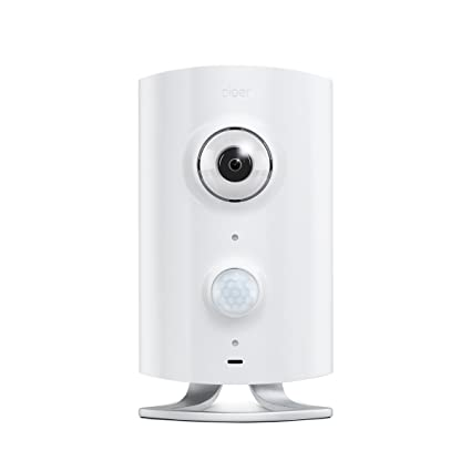 Piper Classic All In One Security System With Video Monitoring Camera, White