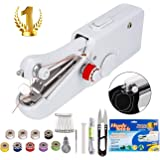 Handheld Sewing Machine - Mini Cordless Portable Electric Sewing Machine - Home Handy Stitch for Clothes Quick Repairing with 24 Accessories