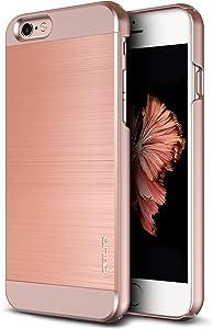 iPhone 6S Case, OBLIQ [Slim Meta II][Rose Gold] Premium Slim Fit Thin Armor All-Around Shock Resistant Polycarbonate Metallic Case for Apple iPhone 6S (2015) & iPhone 6 (2014)