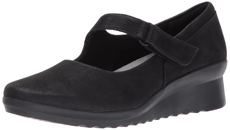 noir Clarks Femmes Chaussures à Talons
