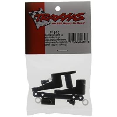 Traxxas 4943 Steering Bell Cranks with Hardware, T-Maxx: Toys & Games