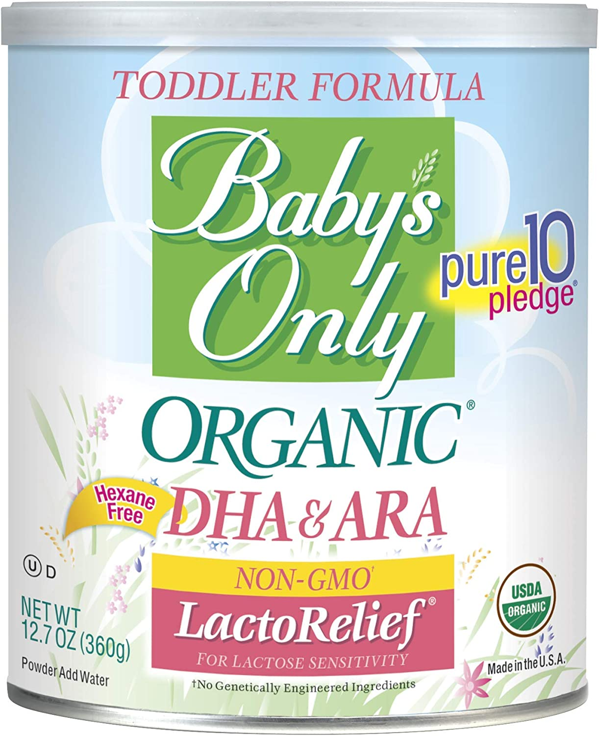 Best Organic Formula for Constipation, Reflux, and Gas